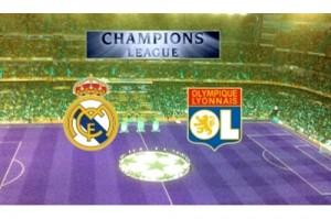 Real Madrid vs olympique de Lyon apuestas