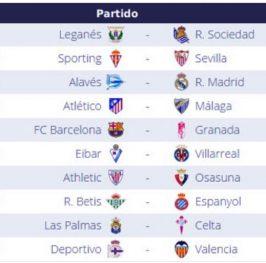 Jornada 10 Liga Española 2016 | LaLiga Santander
