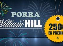 Porra WilliamHill: ¿Quieres ganar 250 en premios?